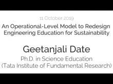 Seminar by Geetanjali Date